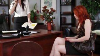 Lesbian office encounter