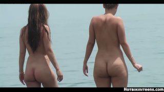 Nude beach HD Voyeur Females